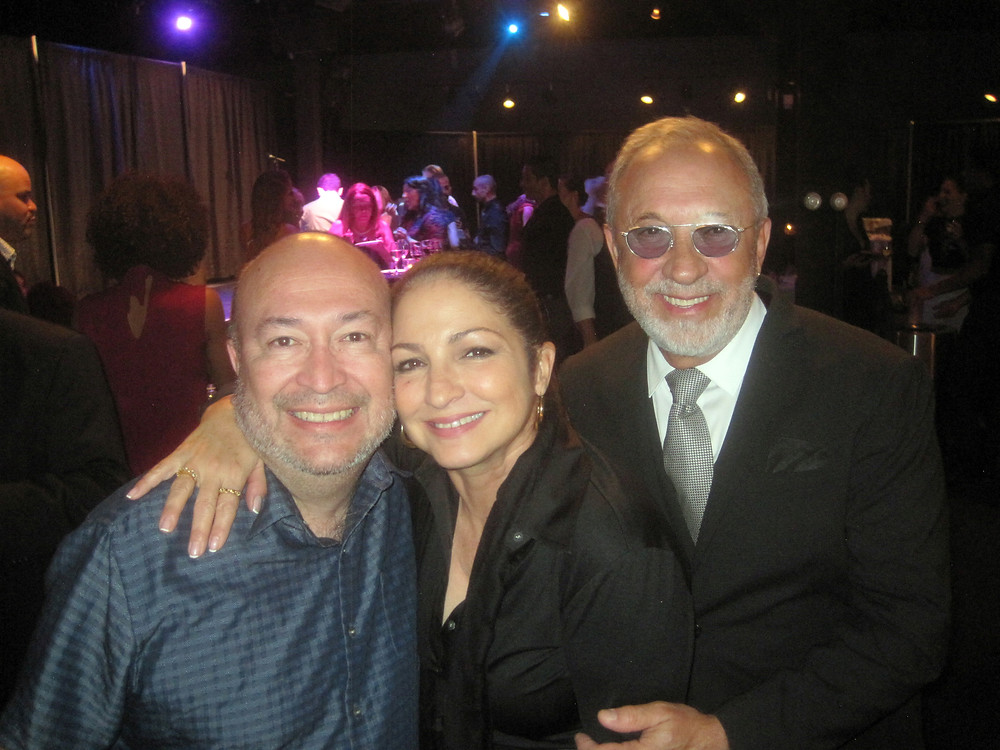 """Gloria and Emilio Estefan at the opening of """"On Your Feet"""" at Shea's in 2017."""