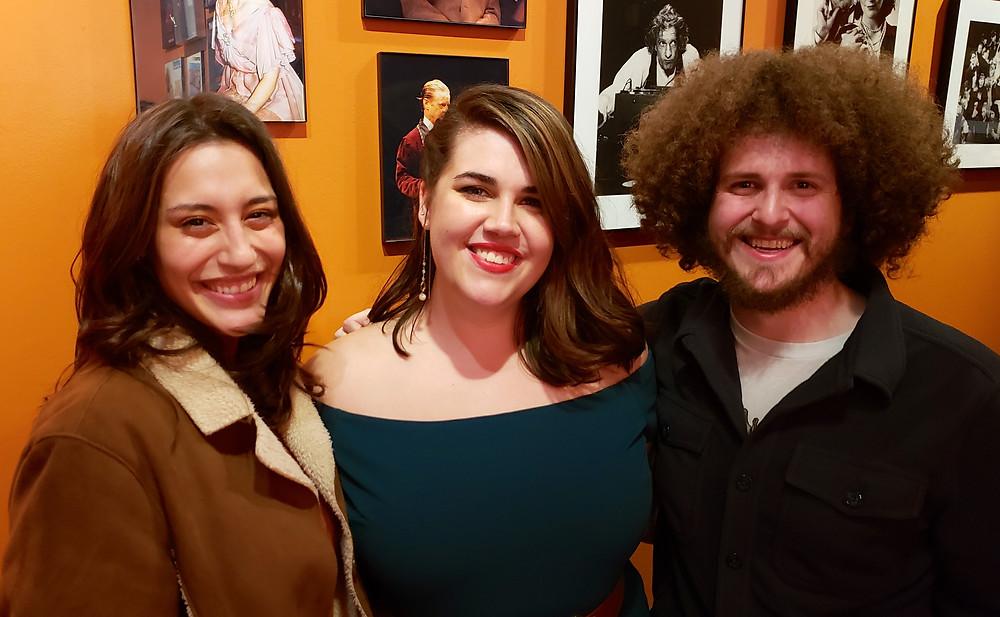 Lisette DeJesus, Karen Harty, and Preston David Williams