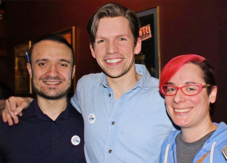 Jeremy Kruezer, David Wysocki, Lindsay Salamone