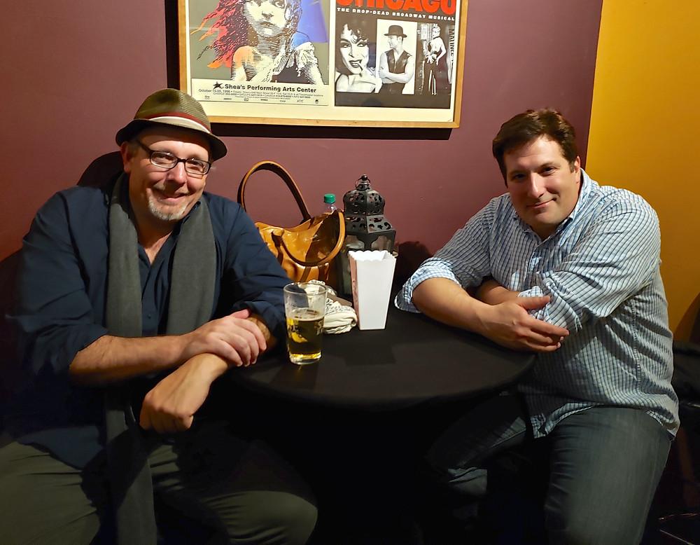 Actors Stan Klimecko and Don Gervasi