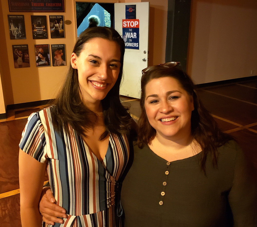 Playwrights, directors, and stars: Lissette DeJesús and Victoria Pérez