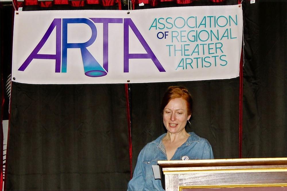 ARTA Vice President Kristen Tripp Kelley