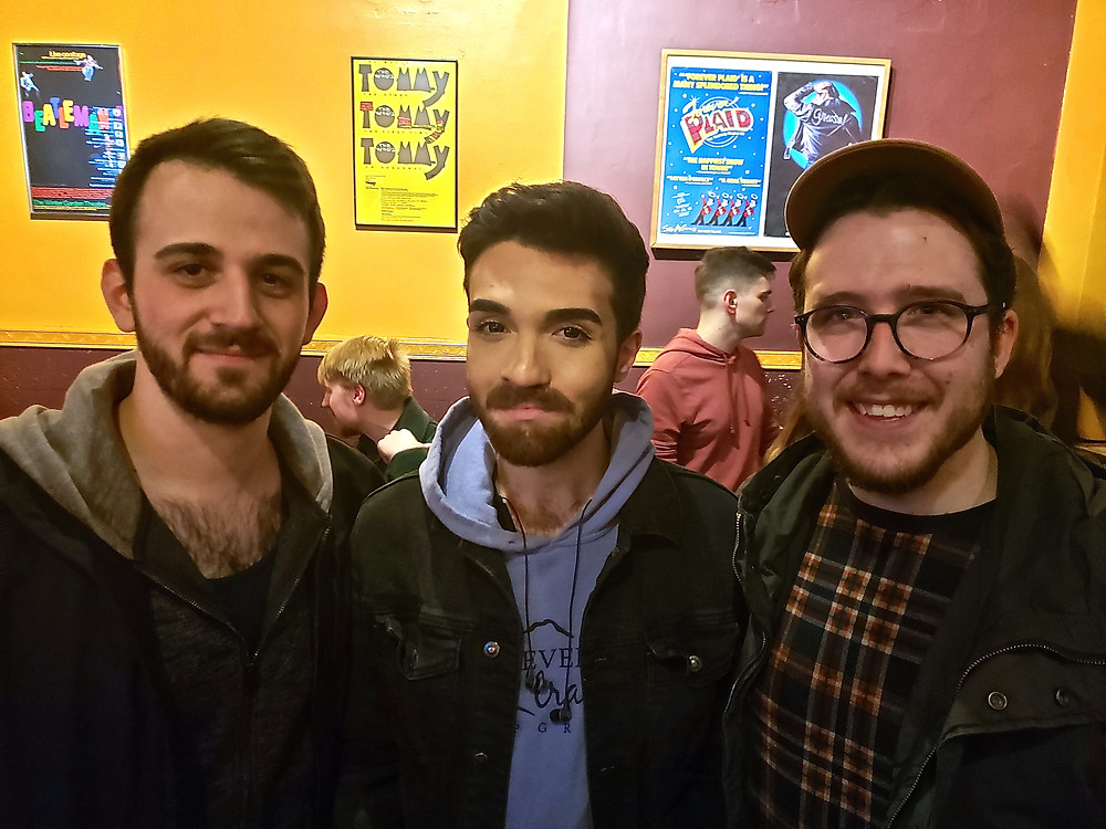 Replacement downstairs boy Anthony Grande, with upstairs boys Jeremy Catania and Ricky Needham