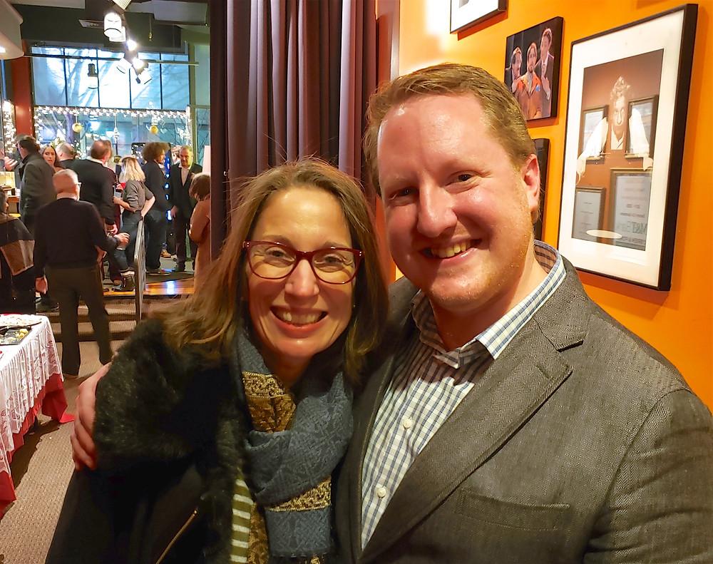 Debbie Pappas Sham and Rich Kraemer