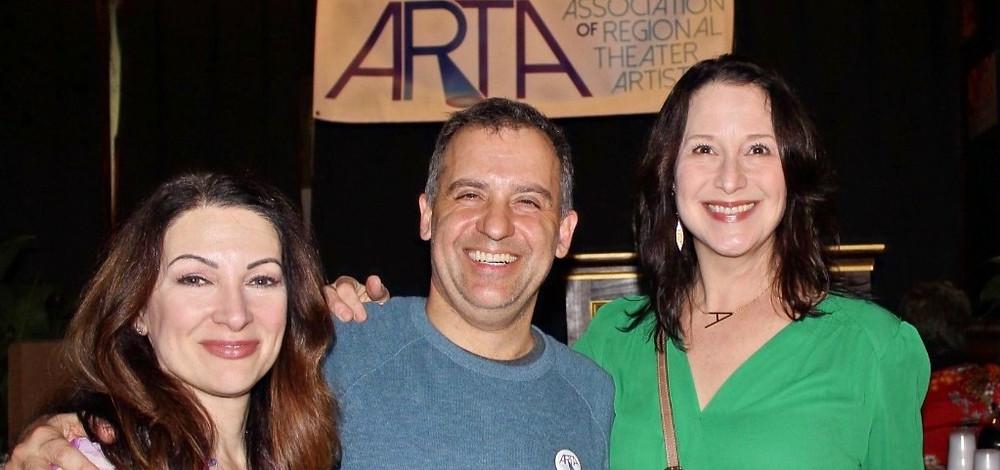Diane DiBernardo, Jon May, and Anne DeFazio
