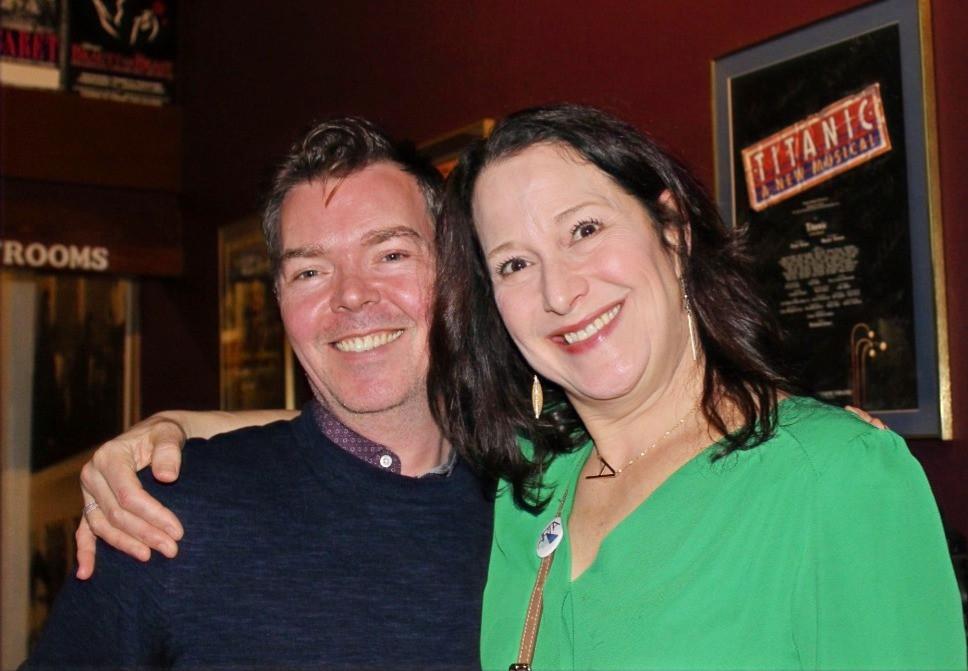 Derek Moran and Anne DeFazio