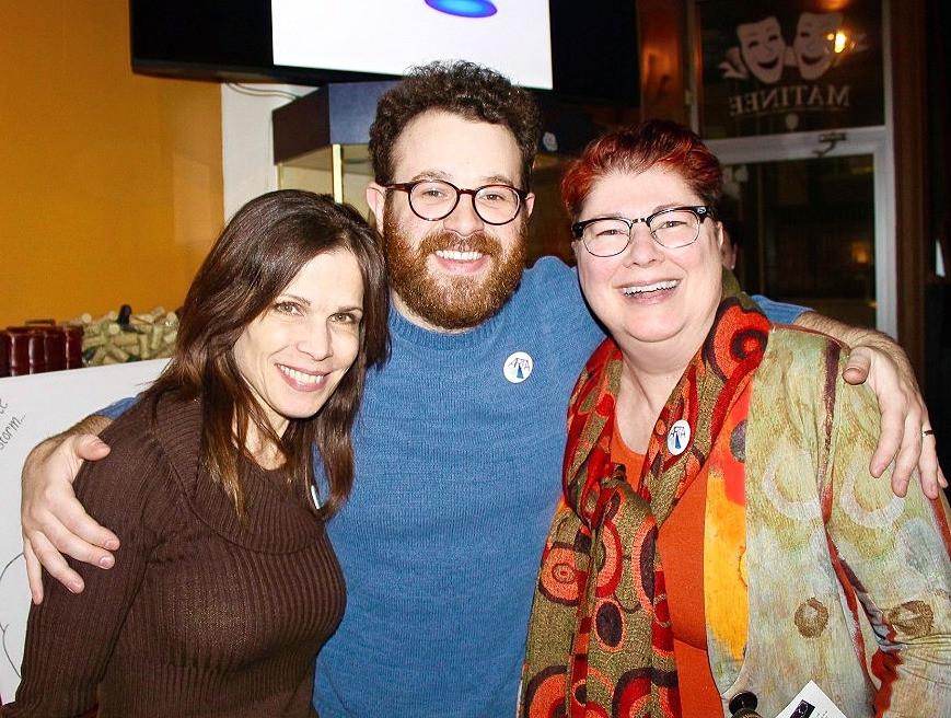 Josie DiVincenzo, Adam Yellen, and Diane Jones