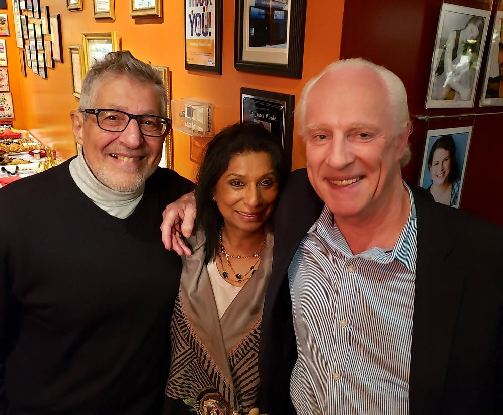 Fortunato Pezzimenti, Teja Rao, and Vincent O'Neill