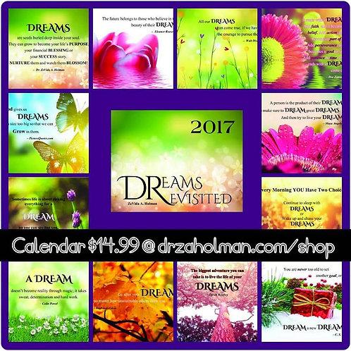 Dreams Revisited 12-Month Calendar
