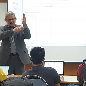 Exchange Professor Dr. Rupert Beinhauer from FH Joanneum Austria