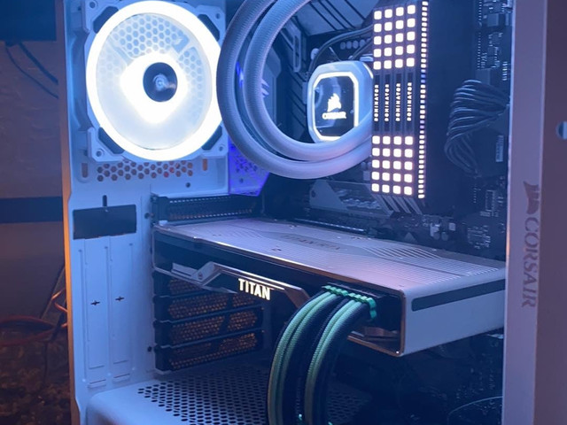 """The """"White Out"""" build, very interesting working with all white components, need to make sure you use electrical tape on your tools as to prevent scuffing. Looks amazing when complete!"""