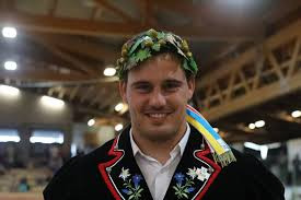 Joel Strebel Sieger Solothurner Kantonales Schwingfest
