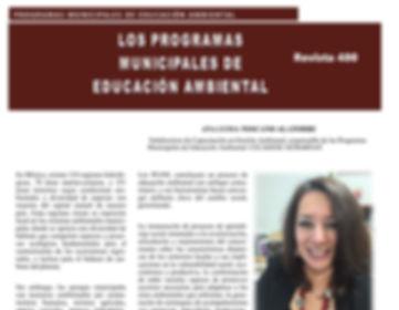 Revista 400 Ana Luisa Toscano Alatorre CECADESU