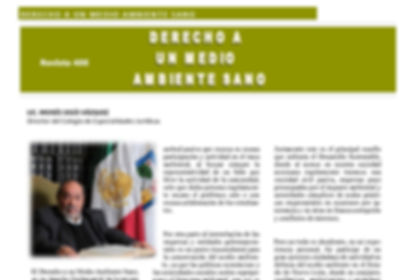 Moisés Solís Vázquez #Revista400 #DesarrolloSustentable  #Monterrey