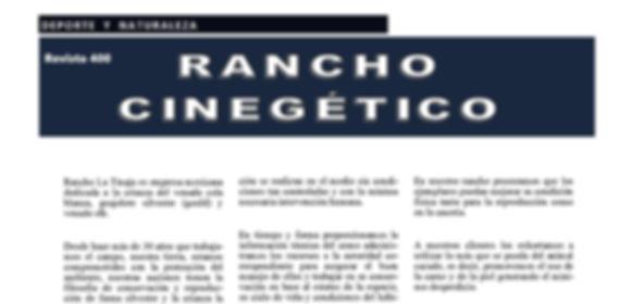 Rancho La Tinaja #Revista400 #DesarrolloSustentable  #Aguascalientes