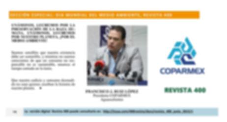 Revista 400 Desarrollo Sustentable  Aguascalientes Francisco Ruiz