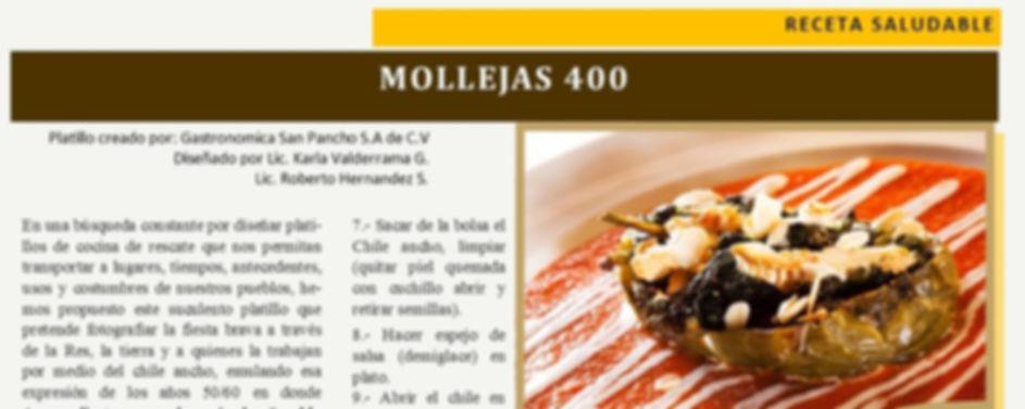 Receta Saludable: #Mollejas400 Revista 400 @400revista  #Revista400