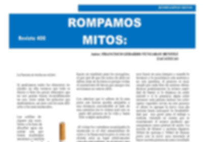 Rompamos Mitos. Revista 400