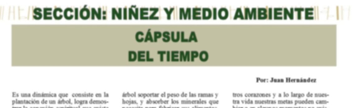 Sección: #NiñezyMedioAmbiente Agua Zacatecas Aguascalientes Jaliisco @400revista