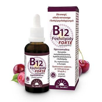 B12 Fosfolipidy FORTE 50ml BB Dr Jacobs
