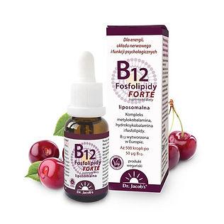 B12 Fosfolipidy FORTE 20ml BB Dr Jacobs