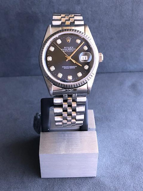 GENTS STAINLESS ROLEX