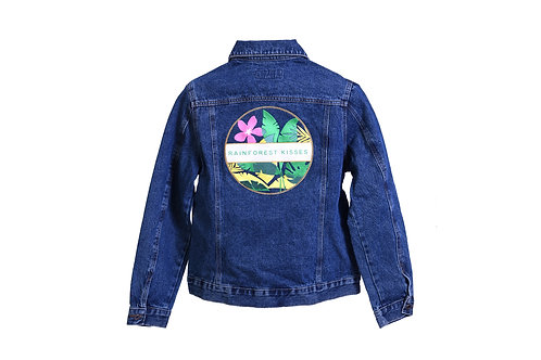 Rainforest Kisses Denim Jacket