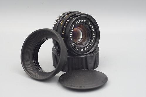 Leica Summicron C 40mm f2