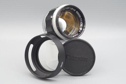 Canon 50mm f1.4 LTM