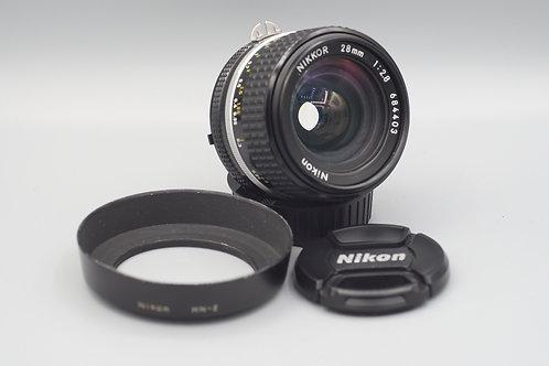 Nikon Nikkor 28mm f2.8 Ai-S