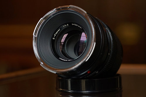 Carl Zeiss S-Planar HFT 120mm f5.6