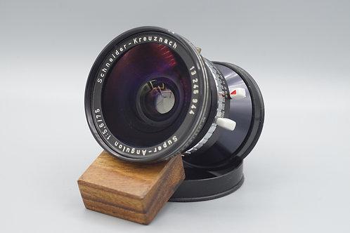 Schneider Super Angulon 75mm f5.6