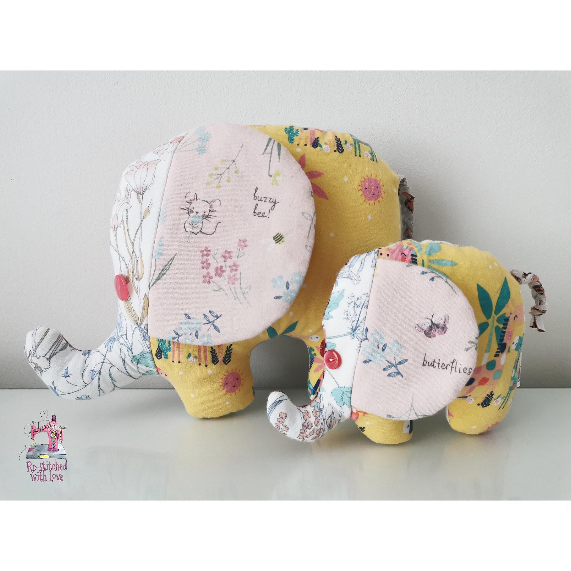 Small & Large Elephant