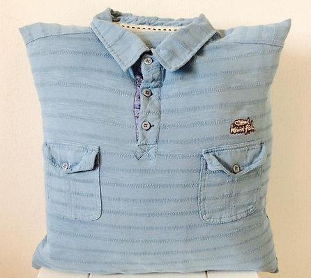 Jumper/T-shirt Cushion With Neckline