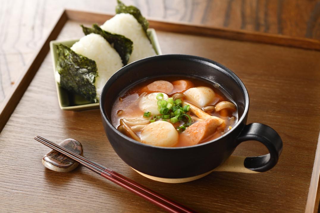 越後南蛮汁 白玉餅の旨辛スープ