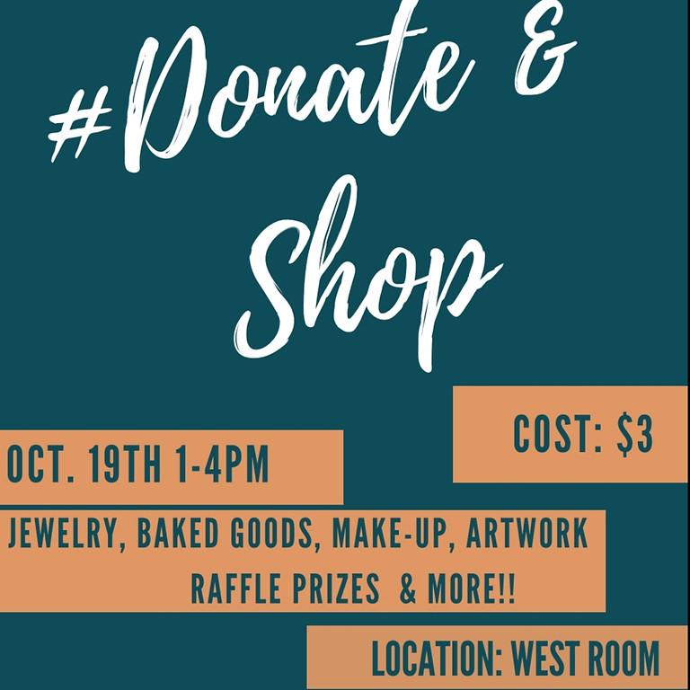 #Donate&Shop