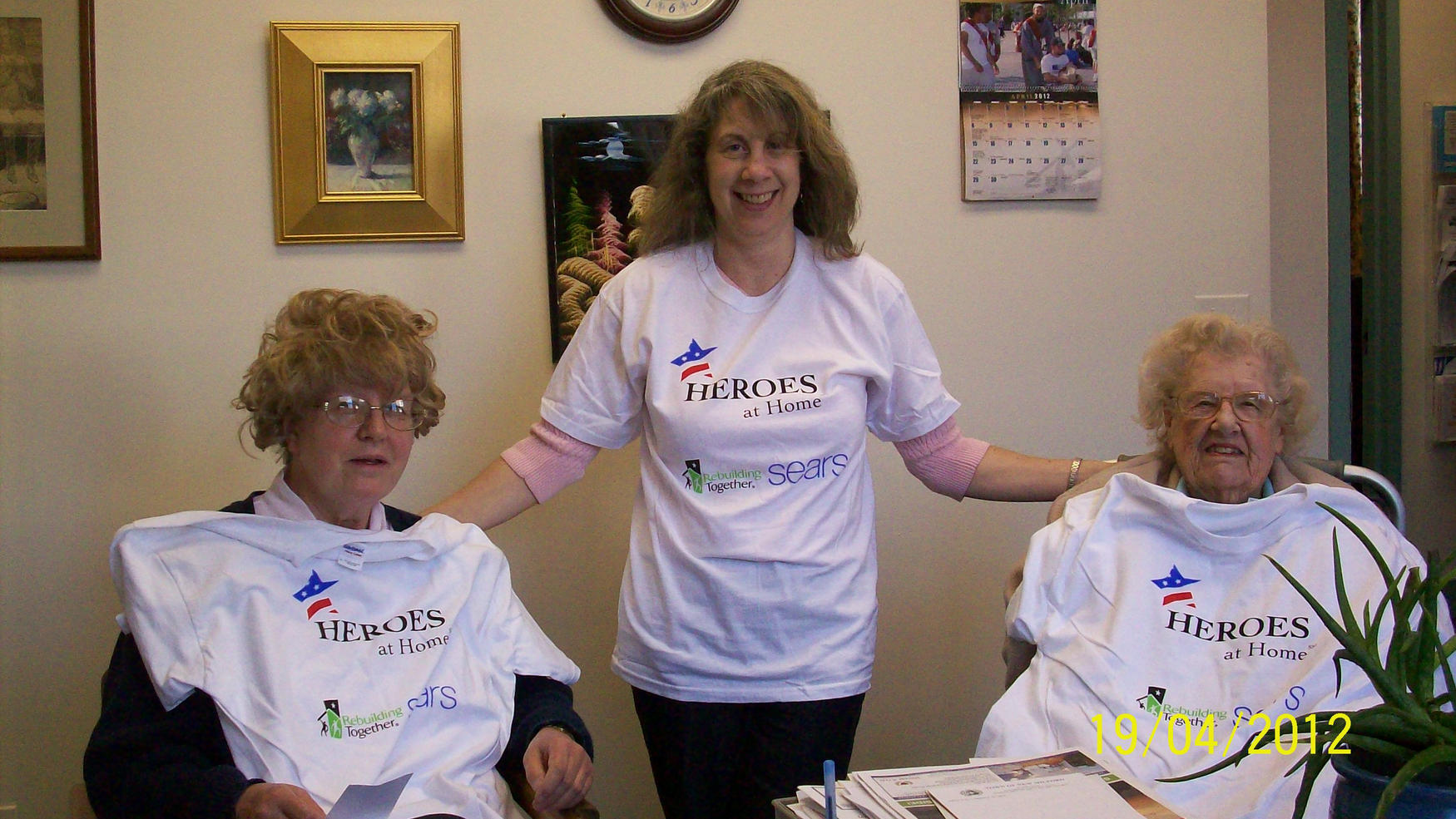 1.Homeowners Sitting & Senior Center Rep