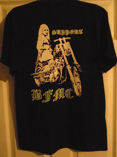 (S) Motorcycle Chick support shirt