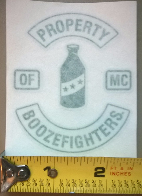 (PH) Property of Boozefighters Sticker