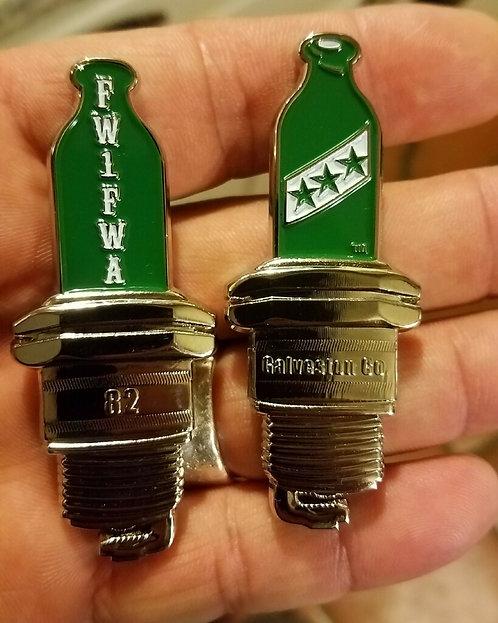 (PH) Spark Plug Coin