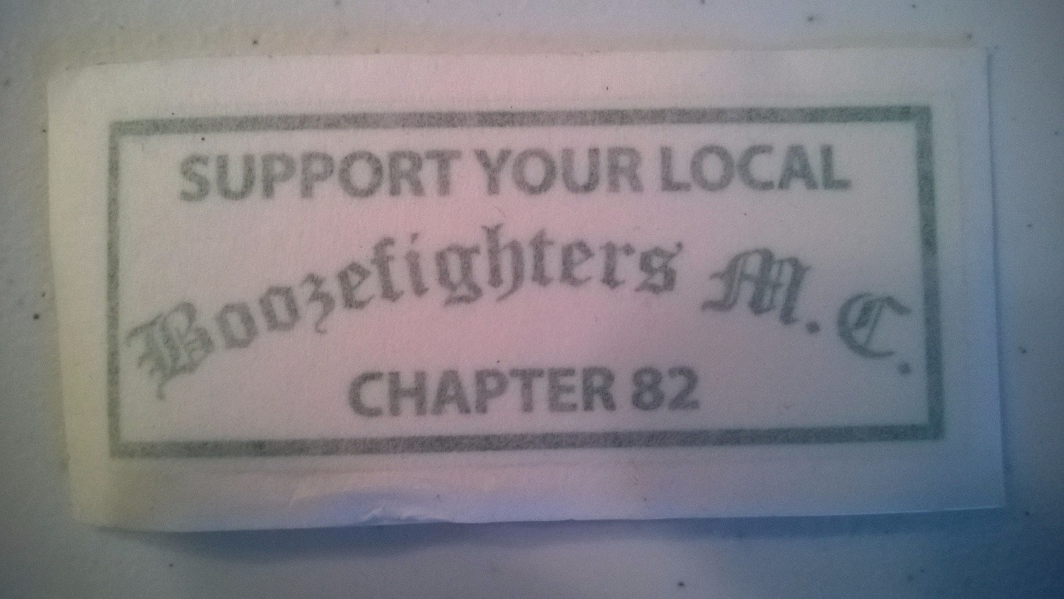 Support Boozefighters 82 sticker | bfmc82