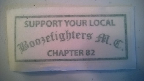 Support Boozefighters 82 sticker