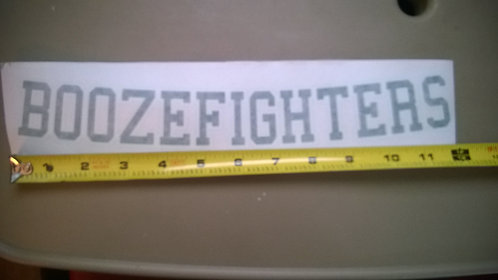 (PH)  Arched boozefighters sticker