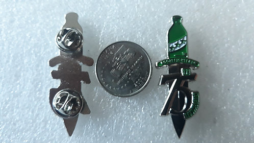 75th Anniversary dagger pin