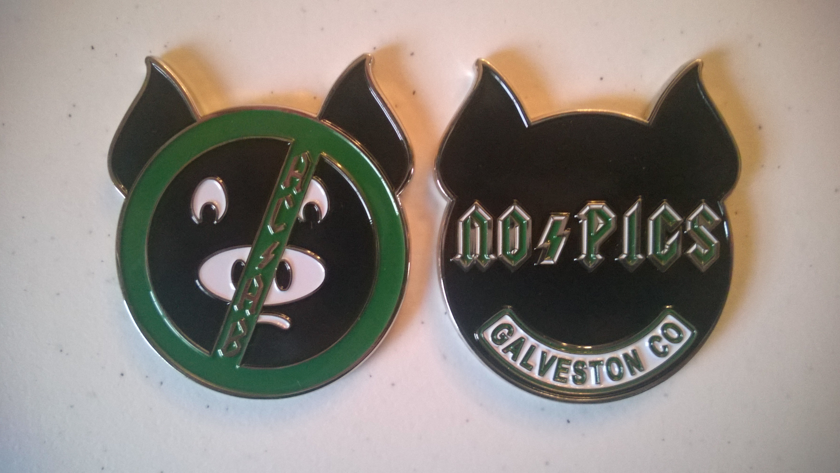 AC / AB Challenge Coin