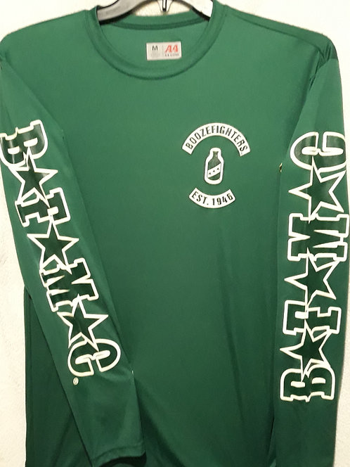 (PH) Green dry fit BFMC sleeve