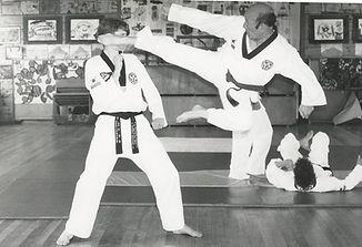Master Drummond & Great Grandmaster Lee