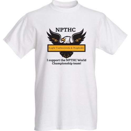 NPTHC Supporters Shirt (White)