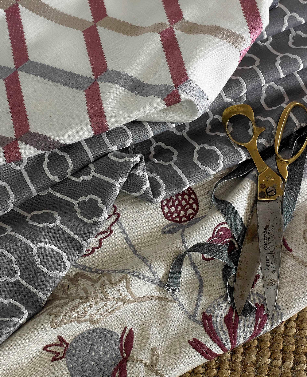 Curtain and sofa fabrics