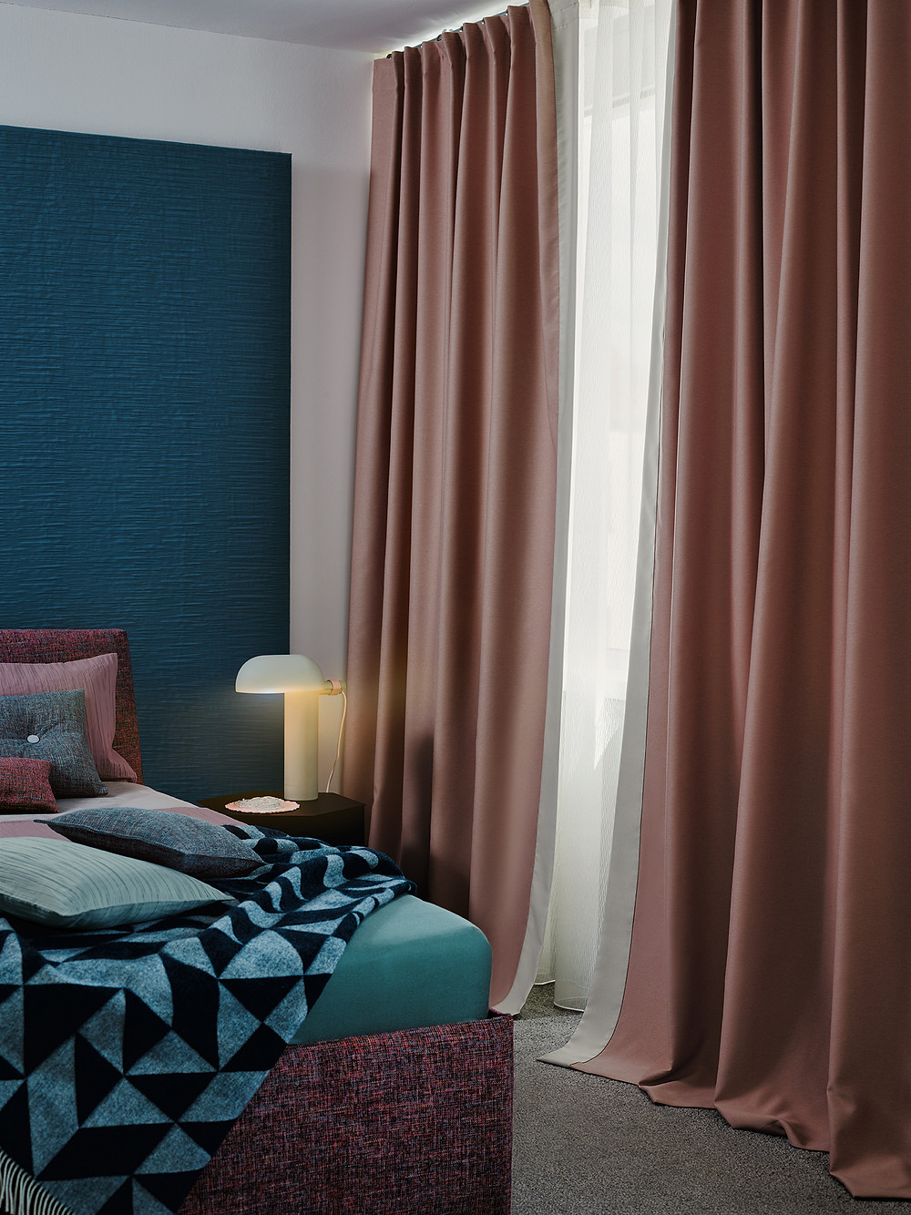 Custom-made curtains in Hong Kong, Dimout curtain fabric